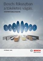 Bosch körfűrészlap tartozék katalógus