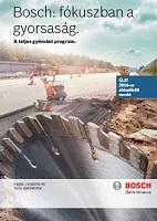 Bosch gyémánt tartozék katalógus